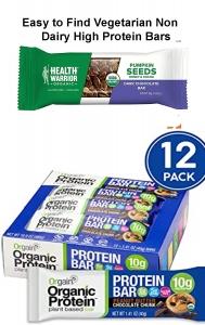 vegatarian high protein bars