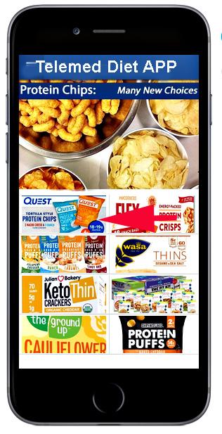 Telemed Diet APP: Chips